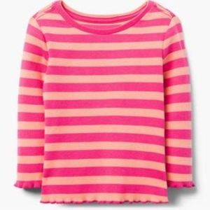 Gymboree Baby Girl Basic Long Sleeve Tee NWT